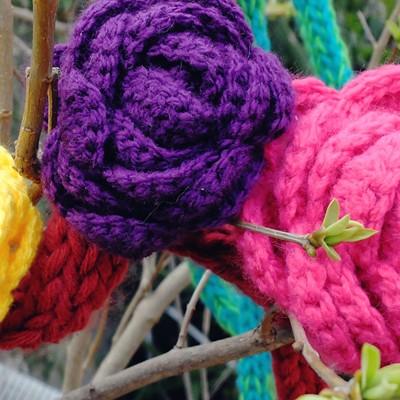 roses en crochet
