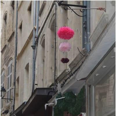 nouveauté : un circuit rose dans la ville